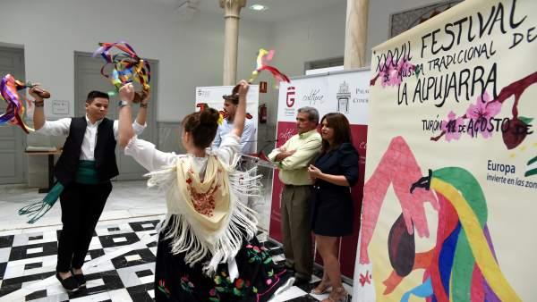 Presentación del 37 Festival de Música Tradicional de la Alpujarra