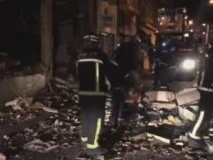 Una explosión provoca el desalojo de dos bloques de edificios