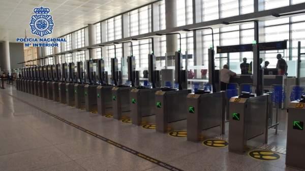 Sistema ABC en aeropuerto de Málaga
