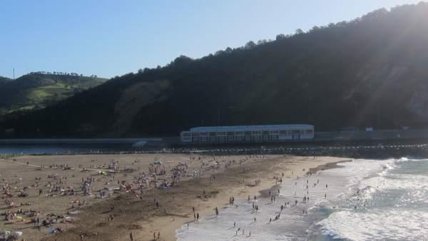 Playa de Orio.