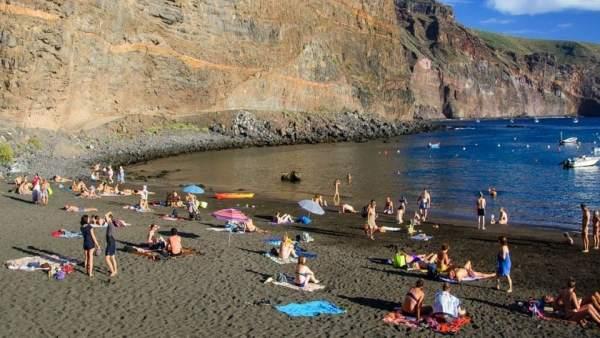 Playa de Vueltas en Valle Gran Rey