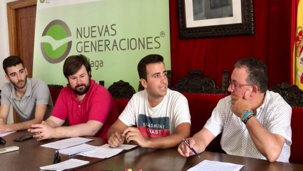 NNGG celebra una mesa de trabajo en Gaucín