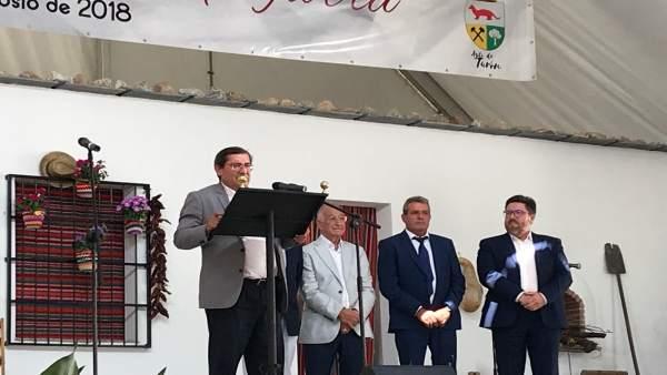 Presidente de la Diputación de Granada, José Entrena.