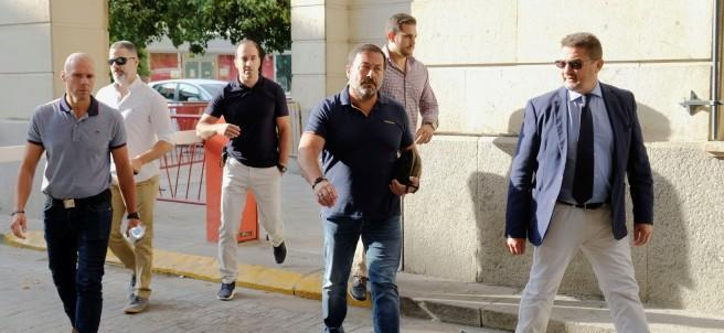 Agentes de seguridad en el caso La Manada