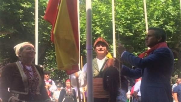 Pablo Zuloaga en el Día de Cantabria