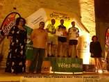 Entrega de premios de la carrera nocturna en Vélez-Málaga