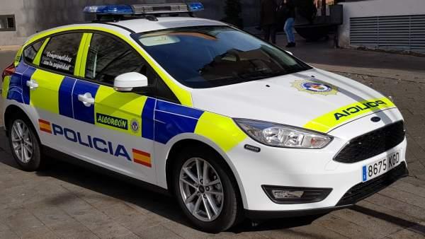 Coche de la Policía Local de Alcorcón