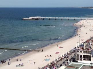Playas de Kołobrzeg.