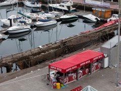 Más de 300 heridos al ceder el suelo durante un festival en Vigo