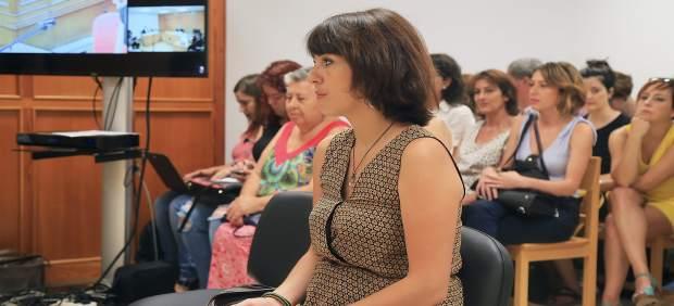 Juana Rivas declara en el juicio por la presunta sustracción de sus hijos