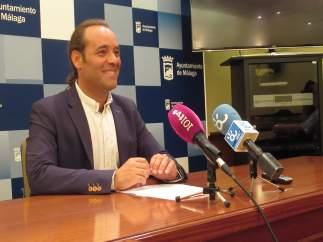 Juan cassá portavoz ciudadanos Cs ayto málaga