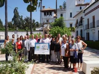Presentación del Cupon de la ONCE en Pizarra