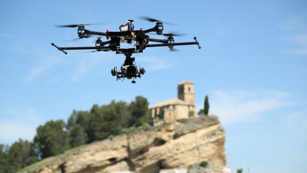 Vuelo de dron