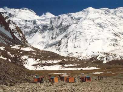 Pico Ismail Samani (7.495 metros), en la cordillera del Pamir, en Tayikistán.