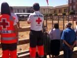 Dispositivo de Cruz Roja en fiestas de Buñuel