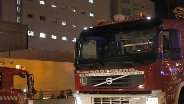 Detenida por provocar un incendio en un hospital