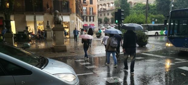 Predicción meteorológica para este martes, 14 de agosto, en Baleares: chubascos localmente fuerte ...