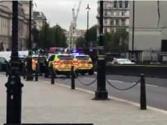 Así ha sido la detención del hombre que ha estrellado su coche contra Westminster