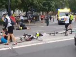 Ciclistas atropellados en Londres