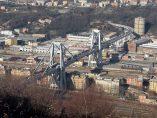 El puente de Génova antes de derrumbarse