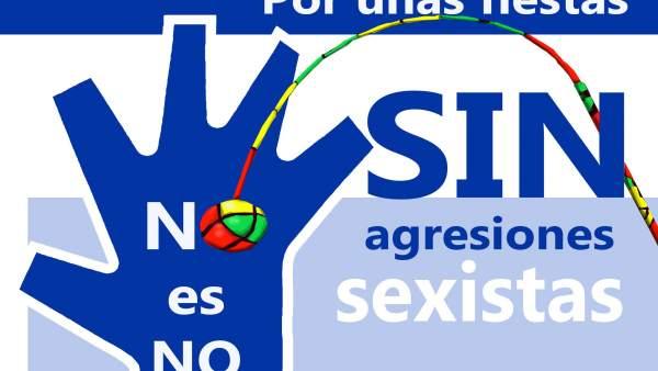 Cartel de la campaña 'No es no' de Tarazona.