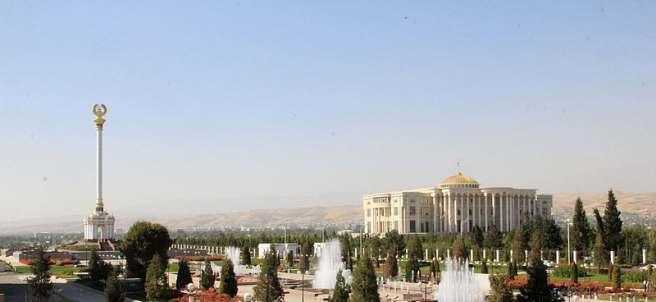 Palacio de las Naciones, en Dusambé, capital de Tayikistán.