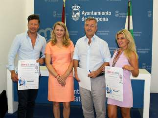 García urbano estepona alcalde con proyecto ambiental polonia