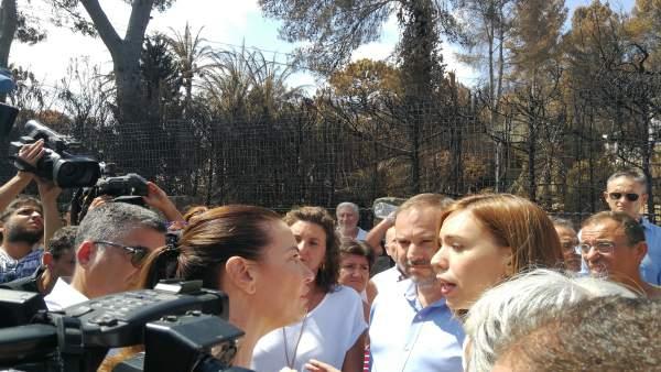 Vecinos de urbanizaciones de Gandia se dirigen a Ábalos y a la alcaldesa