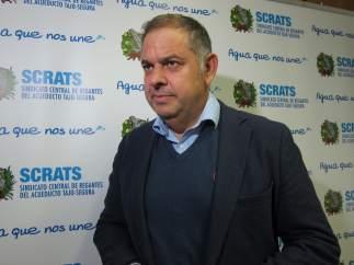 El presidente del Scrats, Lucas Jiménez