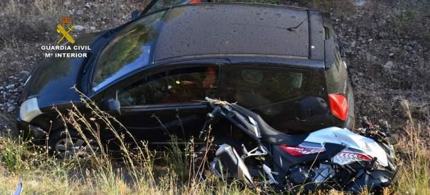 Detenido un hombre por provocar un accidente intencionado y darse a la fuga