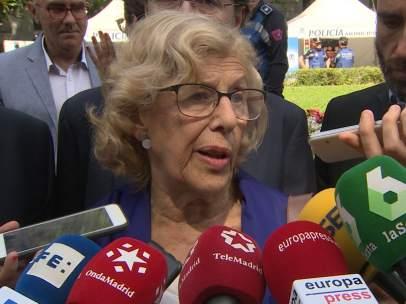 Carmena destaca que Ayuntamientos son 'primera línea de acogida'