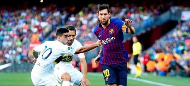 El Barça regala el Gamper a la afición a base de golazos
