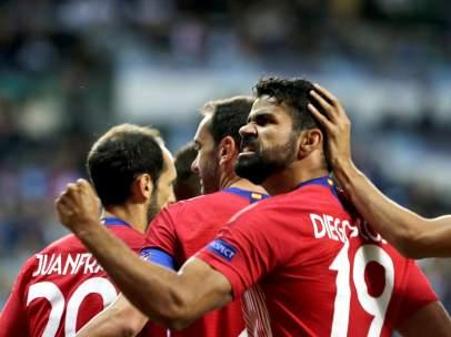 Gol de Diego Costa