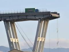 """El camionero que se salvó en el puente de Génova: """"Al coche de delante lo tragaron las nubes"""""""