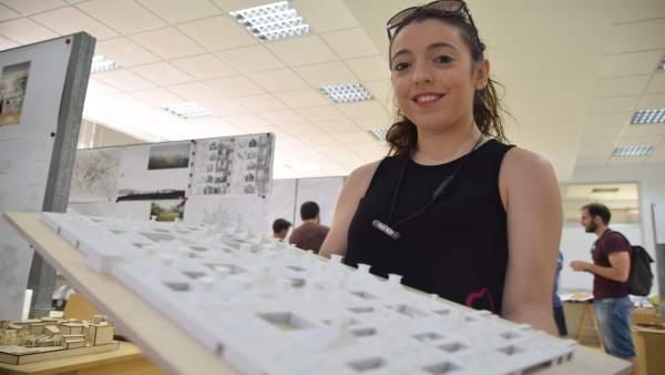Virginia Monreal Martínez enseña su proyecto