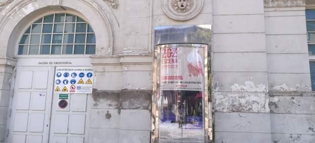 El PAR reclama restaurar la fachada trasera del Teatro Principal