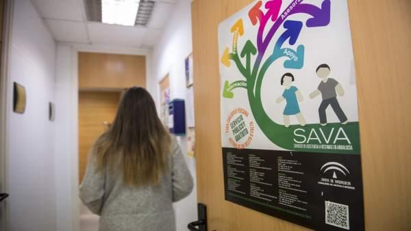 Atención a víctimas en el SAVA de la Junta