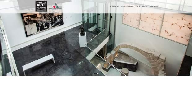 La Diputación Provincial pone en marcha la página web del Centro de Arte y Exposiciones de Ejea