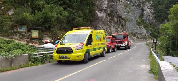 Herido un joven mientras realizaba barranquismo en Peñarrubia