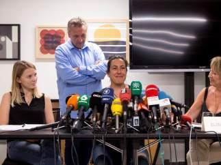 """Las víctimas del 17-A: """"Pedimos a los que dicen que trabajan por los afectados que lo hagan mejor"""""""