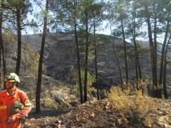 Incendio en Llutxent
