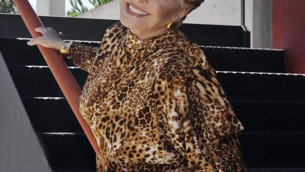 La actriz Lola Herrera
