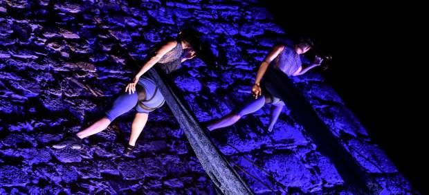 El espectáculo 'Le vie del sale' cierra este viernes el ciclo 'La muralla en danza'