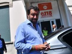 Italia se indigna con Salvini: se fue de fiesta el día del derrumbe en Génova