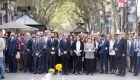 El Govern realiza una ofrenda floral en La Rambla