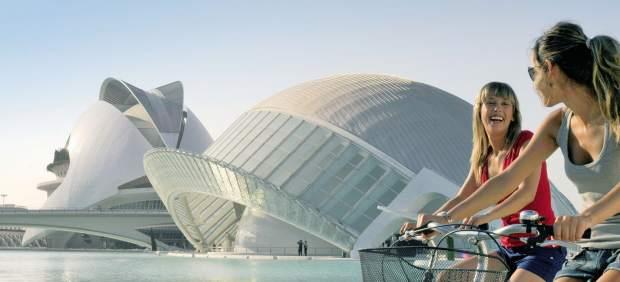 Turistas por Valencia