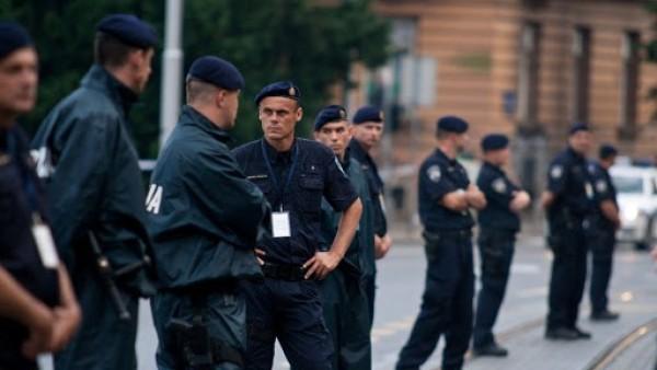 Policía croata