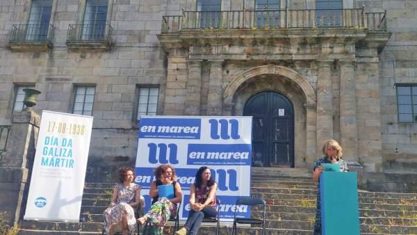 Acto de En Marea por el Día da Galiza Mártir