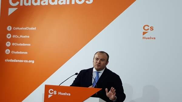 Julio Díaz, de Ciudadanos Huelva.
