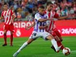 Girona y Valladolid durante su partido